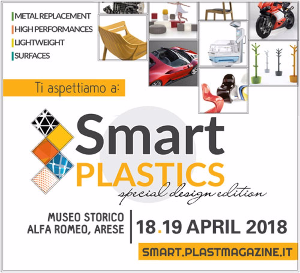SMART PLASTICS CONVENTION 18. UND 19. APRIL 2018 MAILAND